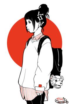 日本国娘1058(2016.11.16)
