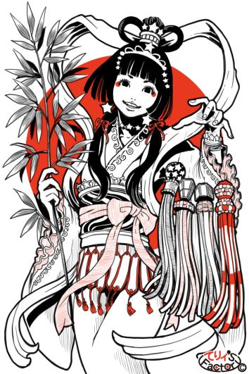 日本国娘2021(2019.07.07)