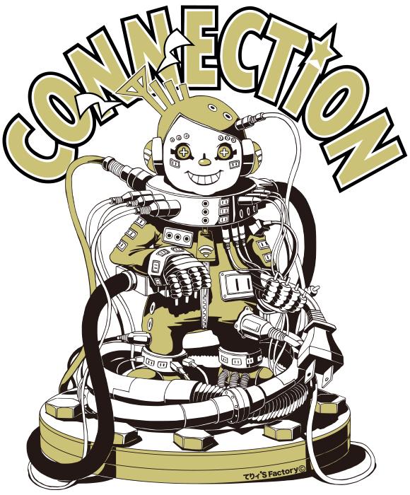 CONNECTION (NISSEN Tシャツデザイン)
